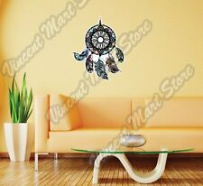"Dream Catcher Indian Sleep Feathers Wall Sticker Room Interior Decor 22""X25"""