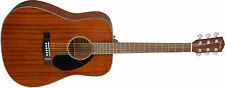 Fender CD-60S All Mahogany Dreadnought Acoustic Guitar