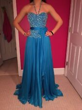 Sheri Hill Size 2 Blue Evening Gown