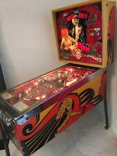 Collectors Mata Hari 1978 Original Vintage Pinball Machine by Bally For Sale
