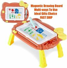 Kids Magnetic Drawing Board Large Doodle Erasable Pad Toddler Toys Gifts