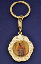 Orthodox Key Ring Different Shapes & Designs Cross Bell Round Schlüsselanhänger