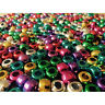 Metallic Pony Beads, Assorted Colours (approx 500) -Creation Station CT2352