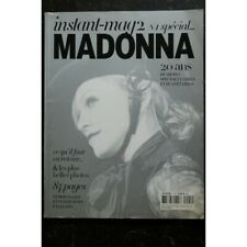INSTANT-MAG 2 n° 1 SPECIAL MADONNA 20 ANS 84 PAGES 2006