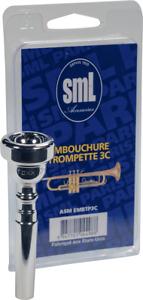 EMBOUCHURE TROMPETTE ARGENTEE 3 C SML EMBTP3C