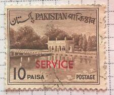 Pakistan  stamps - Shalimar Gardens - 1962 10 paisa