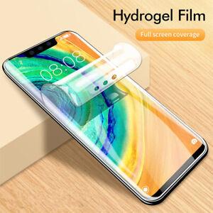 3D Silicone Soft TPU Hydrogel Film For Motorola Moto G8 G7 G6 Z Screen Protector