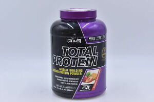 Cutler Nutrition Total Protein, Strawberry Graham Cracker, 4.5lbs, EXP: 04/2022