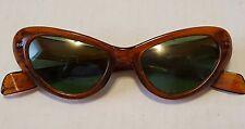 vintage polaroid cool ray 120 sunglasses cats eye retro plastic frames mod