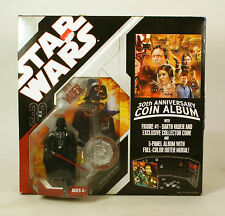 Star Wars 30th Anniversary Collection Coin Album With #1 Darth Vader