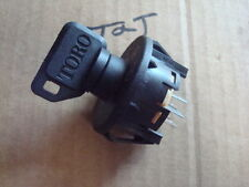 New IGNITION Switch WITH  KEY replaces TORO Timecutter,  Exmark 117-2222