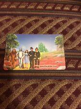 Wizard of Oz Bonus Card - Yellow Brick Road. No Barcodes or Stamps.