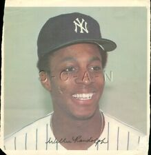 Original 1978 New York Yankees Large Baseball Player Lithograph- Willie Randolph