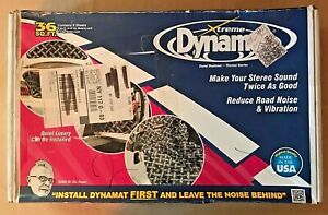 Xtreme Dynamat Sound Deadener 9 (36 sq. ft.) Sheets Bulk Box NEW