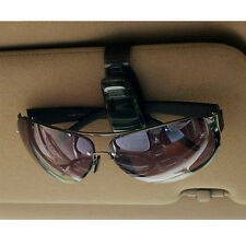 Black Auto Car Sunglass Eyeglass Holder Visor Clip Card Reading Glasses Store