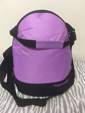 Tupperware Insulated Lunch Bag Light Purple w/ Black New