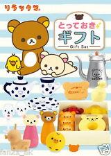 New Re-ment Sanrio Miniatures San-X Rilakkuma Relax Totteoki Gift rement 8 PCS