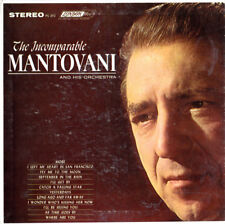 """The Incomparable Mantovani - 7"""" - 6 Track EP - 1st US Press - 1964 - Near Mint"""