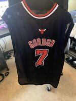 Ben Gordon Men's XL Reebok Swingman Chicago Bulls Alternate NBA Jersey Black