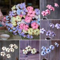 natural dried floral cotton flower bouquet wedding party home decor diy  GVUS