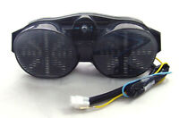 Clignotants LED Feu arrière intégrés pour Yamaha YZF 600 R6 2001-2002 Smoke AF