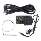 Set Acoustic Guitar 4 Band EQ Equalizer Preamp Piezo Pickup Tuner w/ Cable