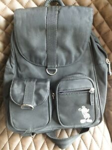 Black Disneyland Paris backpack bag, rucksack, Mickey mouse