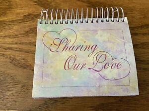 "Heartland Samplers Perpetual Calendar ""Sharing Our Love""  5.5"" x 5"""