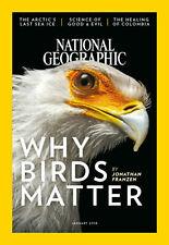 National Geographic Why Birds Matter January 2018 Magazine