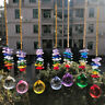 Rainbow Clear Crystal Ball Prisms Pendant Chandelier DIY Window Decor SUNCATCHER