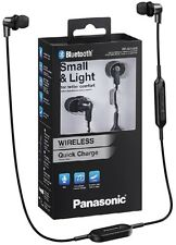 Auricular Panasonic Rp-nj300be-k Bluetooth negro