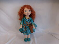 "Disney 14"" BRAVE Princess MERIDA Toddler Doll 14"" Dress Belt Quiver Arrow Shoe"