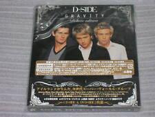 D-SIDE gravity Deluxe Edition JAPAN CD + BONUS DVD WESTLIFE TAKE THAT SEAL NEW