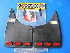 Jeu de bavettes arrière avec catadioptres R-B pour Peugeot 806 tous types