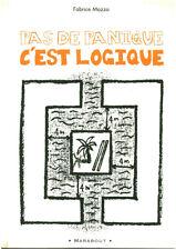 Livre jeux pas de panique, c'est logique Fabrice Mazza book