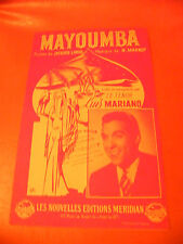 Partition Mayoumba Luis Mariano Marbot