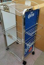 Jose Cuervo Liquor Metal Rolling Display Man Cave Bar Rack , Beer Rack, Party ra