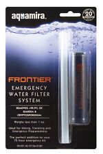 Water Filter System for Emergency - Aquamira - Filters Up To 20 Gallons