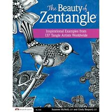 THE BEAUTY OF ZENTANGLE-Line Drawing Altered Art-Cards Paper Craft Idea Book