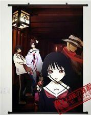 Home Decor Japanese Anime Wall poster Scroll Hell Girl Jigoku Shoujo Ai Enma WJ