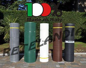 Rete PLASTICA h cm 100 maglia quadra cm 1x1 recinzione ringhiera balcone bambini