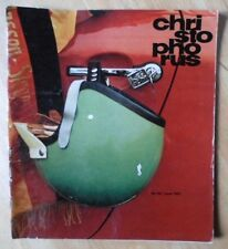 Revista Original Fábrica emitido Porsche Christophorus Folleto-Edición 69 1967