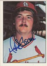 MIKE GARMAN Autographed Signed 1976 SSPC card St. Louis Cardinals COA