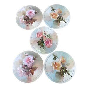 Vintage Jason Placemats Fragrant Blooms Design by Jill KirsteinBoxed Set Of 5