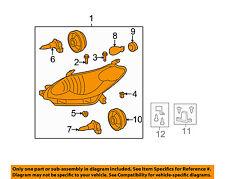 TOYOTA OEM 09-13 Matrix-Headlight Assembly 8115002650