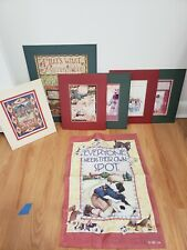 Mary Engelbreit Print, Cards, Illistrations, and Flag - includes all 7 items