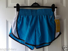 Everlast Womens Performance Blue Shorts Inner Panty Large NWT 10740