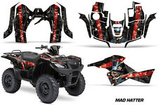 Suzuki Quad 500 AXi AMR Racing Sticker Graphic Kit Wrap Decal ATV 13-15 MAD RED