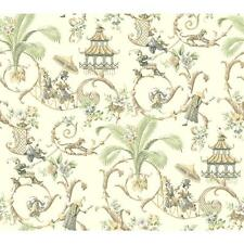 Waverly Wallpaper WA7772 Mandarin Prose Oriental Asian Toile