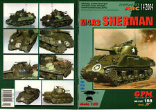 PM 328 -  RITAGLIARE PAPER MODELS M4 A3 SHERMAN